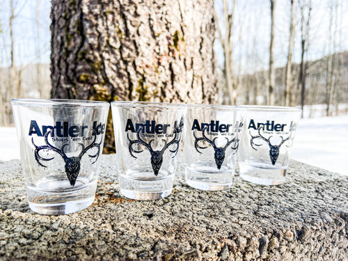 Antler Ice Shot Glasses 4-Pack