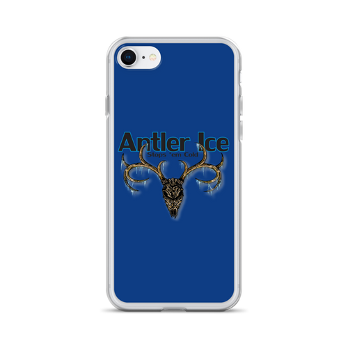 Antler Ice Blue iPhone Case