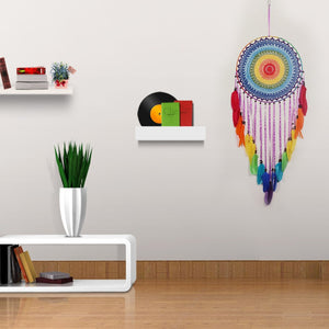 Colorful Flower Dream Catcher