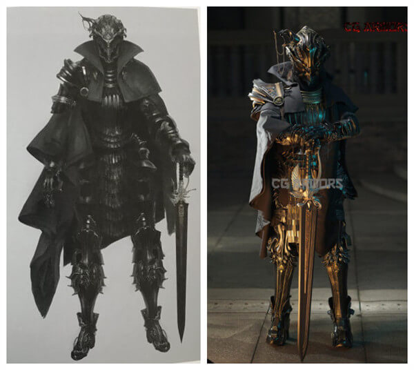 The Father cosplay armor from CGarmors