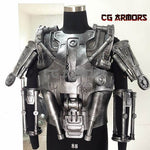 The Terminator T800 Cosplay Armor Details