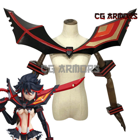 Kill La Kill Ryuko Matoi Cosplay Fighting Pauldrons