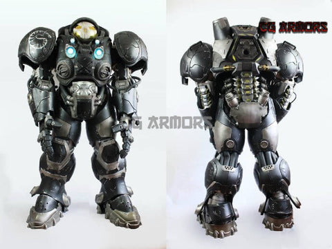Starcraft General James Eugene Raynor Cosplay Armor - cgarmors