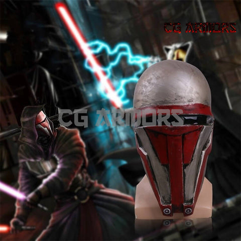 Star Wars: Old Republic Sith Lord Darth Revan Cosplay Mask