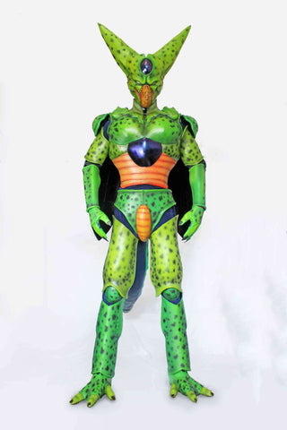 Dragon Ball Cell Green Cosplay Armor & Helmet - cgarmors
