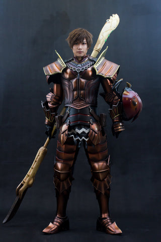 Monster Hunter Kushala Daora Cosplay Armor Set