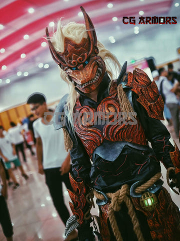 Monster Hunter World Odogaron Male Cosplay Armor--Starter Version