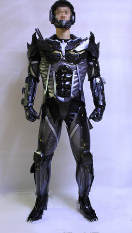 Metal Gear Rising: Revengeance Raiden Black Cosplay Armor & Weapon - cgarmors