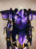 Fate Grand Order Lord of Joyous Gard Lancelot Purple Cosplay Armor Tops