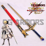 Fate Stay Night Artoria Pendragon Saber Lily Cosplay Sword - cgarmors