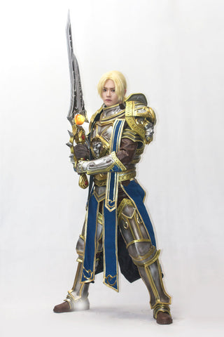 World of Warcraft: WOW Battle for Azeroth Sir Anduin Lothar Cosplay Armor - cgarmors