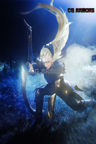 League Of Legends LOL Scorn of the Moon Diana Cosplay Armor
