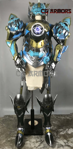 Overwatch OW Qinglong Pharah Lightable Cosplay Armor & Props