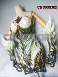 Final Fantasy XIV The Queen of Storms Garuda Cosplay Armor Front