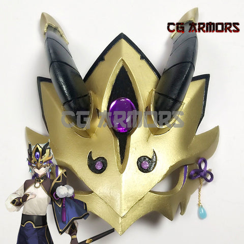 Fate Grand Order Saber Lanling Wang Gao Changgong Cosplay Mask