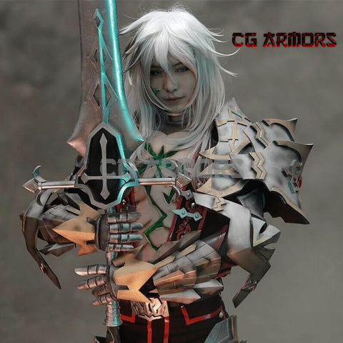 Fate Apocrypha Saber Of Black Siegfried Cosplay Armor