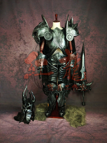 Cooperate Brand World Of Warcraft WOW Arthas Menethil Cosplay Armor-Classic Version - cgarmors