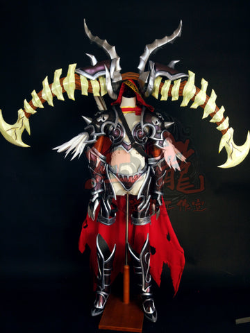 Cooperate Brand World Of Warcraft WOW Queen of the Forsaken Sylvanas Windrunner Cosplay Armor