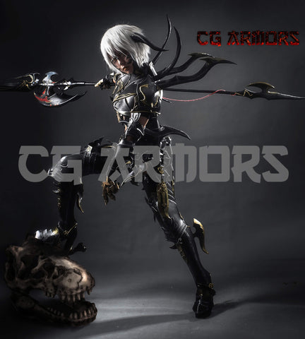 Final Fantasy XIV FF14 Dragoon Cosplay Armor - cgarmors