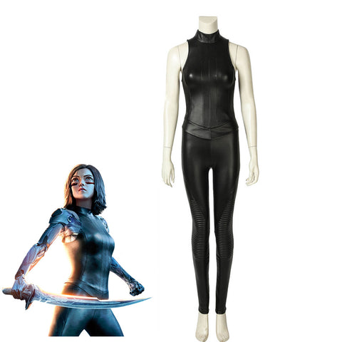 Alita: Battle Angel Alita Cosplay Costume - cgarmors
