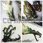 Final Fantasy XIV The Queen of Storms Garuda Cosplay Armor Details