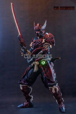 Monster Hunter World Odogaron Male Cosplay Armor Weapon