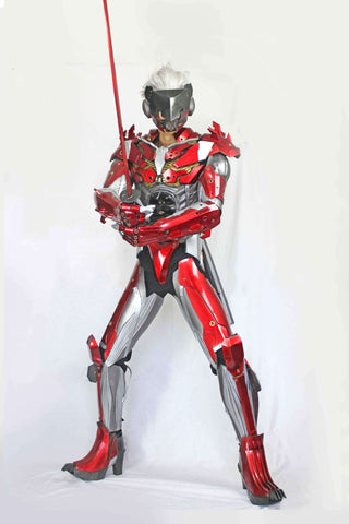 Metal Gear Rising:Revengeance Raiden Inferno Cosplay Armor Set