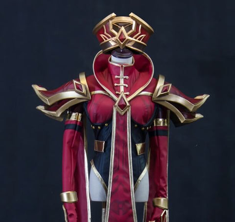 World of Warcraft WOW Scarlet Monastery High Inquisitor Sally Whitemane Cosplay Armor - cgarmors