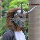 Marvel Black Panther 2018 Movie Erik Killmonger Mask - cgarmors