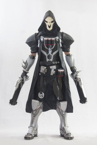 Overwatch OW Reaper Gabriel Reyes Copslay Costumes & Armors & Props