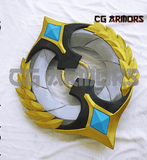 League Of Legends LOL Sivir Victorious Skin Cosplay Weapon