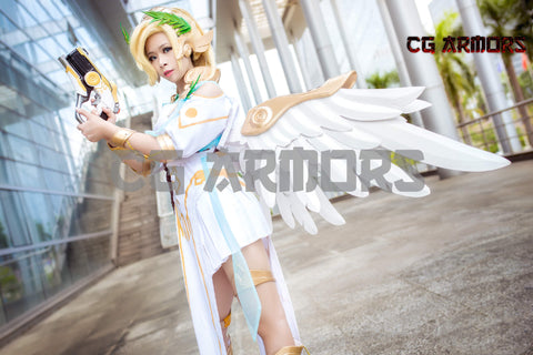 Overwatch OW Victory Mercy Skin Wings & Accessories & Prop