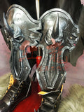 World Of Warcraft WOW Arthas Menethil Cosplay Boots