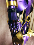 Fate Grand Order Lord of Joyous Gard Lancelot Purple Cosplay Armor Details