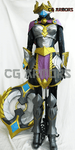 LOL Sivir Victorious Skin Cosplay Costumes & Armors & Weapon