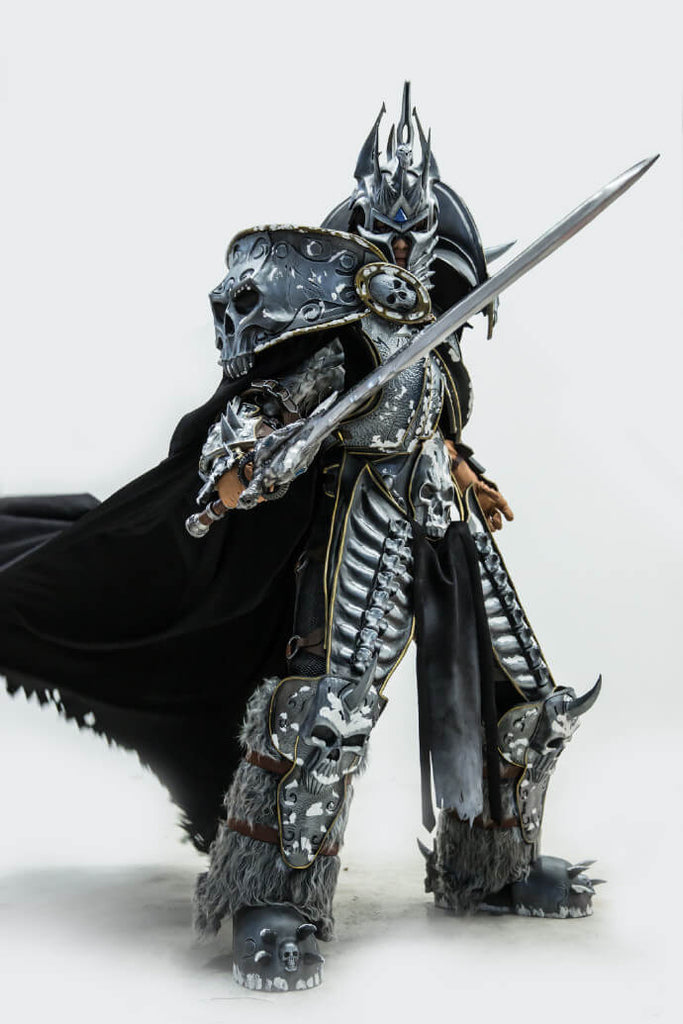 World Of Warcraft Wow Lich King Arthas Menethil Cosplay