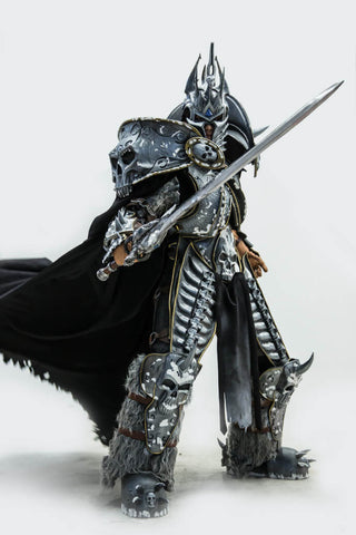 World Of Warcraft WOW Lich King Arthas Menethil Cosplay Armor - cgarmors