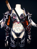 World Of Warcraft WOW Queen of the Forsaken Sylvanas Windrunner Cosplay Armor Top