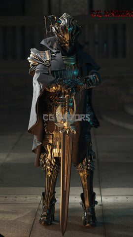 Final Fantancy XV The Father King Regis Cosplay Armor & Prop