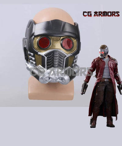 Marvel Guardians Of The Galaxy Peter Quill / Star-Lord Cosplay Mask - cgarmors