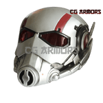 Marvel Ant Man Henry Hank Pym Silver Cosplay Helmet front