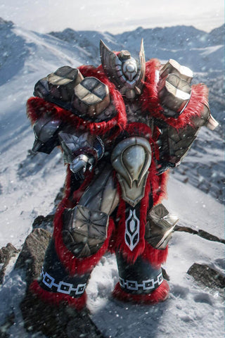 Monster Hunter  Gammoth Cosplay Armor Set - cgarmors