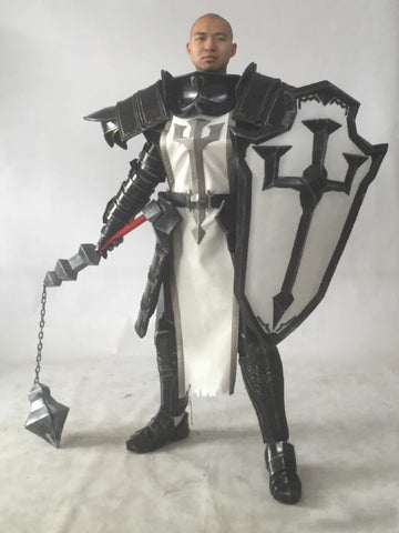 Diablo III: Reaper of Souls Crusaders Cosplay Whole Set Armor & Shield - cgarmors