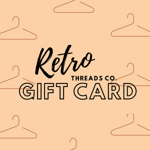 Retro Threads Co Gift Card