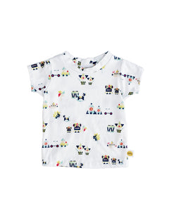 Boys shirt, kids play shirt, cute boys clothing, t-shirt, boys graphic tee