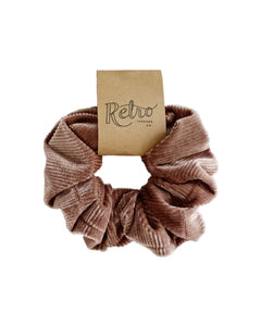 Velvet Scrunchies - Blush Pink