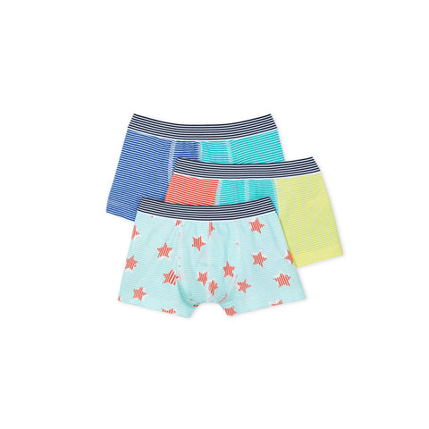 Striped Star Boxer - Set of 3