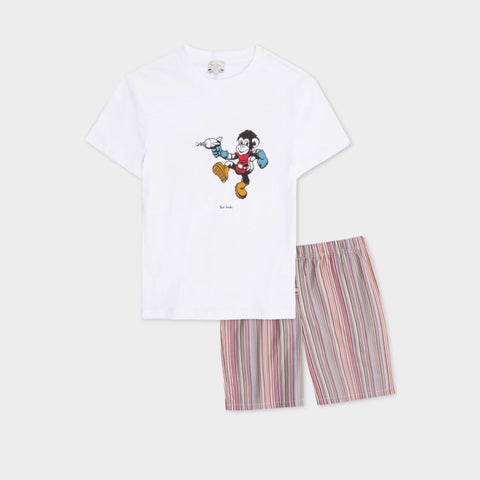 'Space Monkey' Pyjama Set