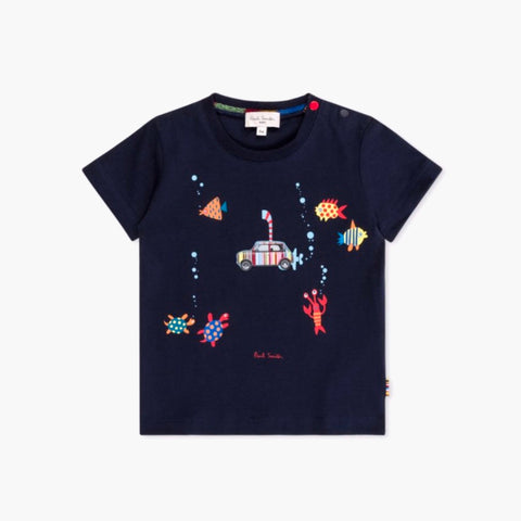 Baby Dark Navy 'Mini Submarine' T-Shirt