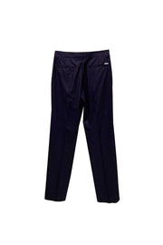 Straight Trousers - Navy